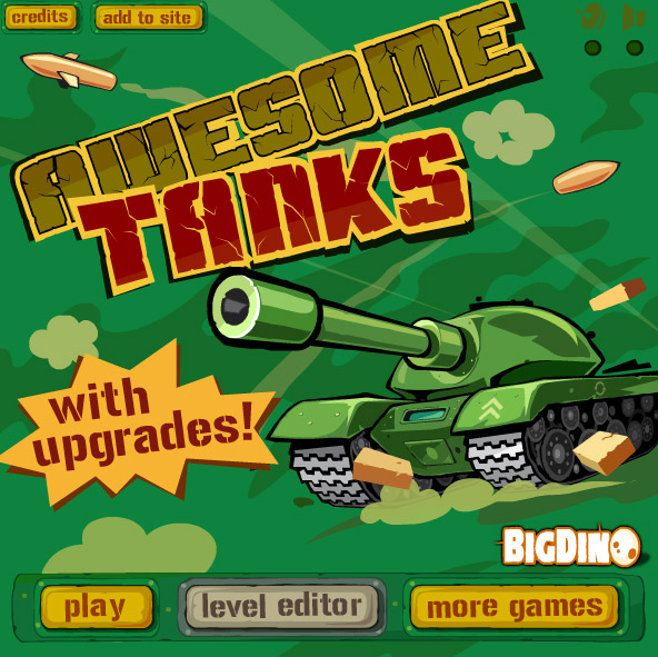 Play Awesome Tanks 1