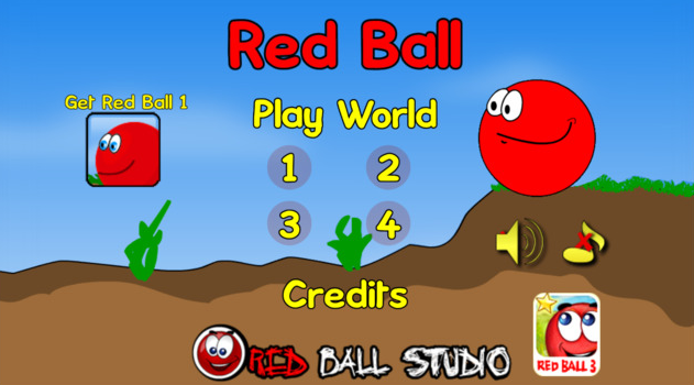 red ball app
